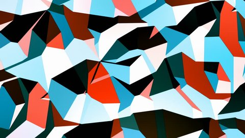 Walter - 4k 60fps Stylish Geometric Video Background Loop /// Flowing Texture that boasts a geometric look combined with a cool, modern color scheme.