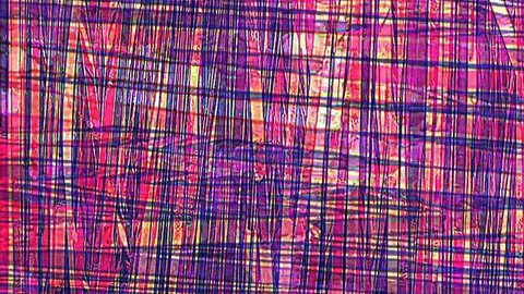 Tartan style abstract background with endless seamless looping motion.