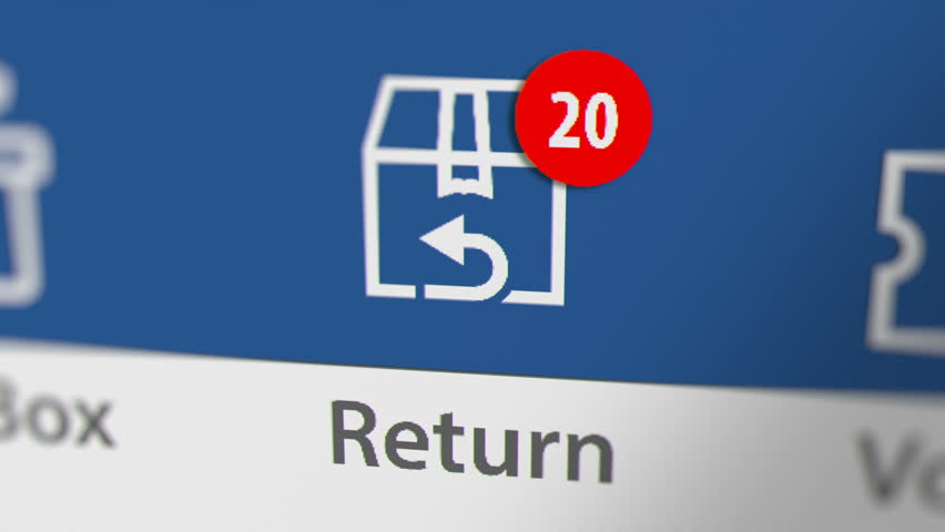 Return Icon with Animated Counting Stock Footage Video (100% Royalty-free)  1021372420 | Shutterstock