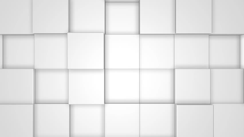 3D White Cubes Seamless Background | Shutterstock HD Video #10217030