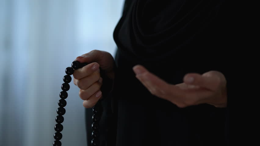 Muslim Woman Praying with Islamic Stock Footage Video (100% Royalty-free)  1021899370 | Shutterstock