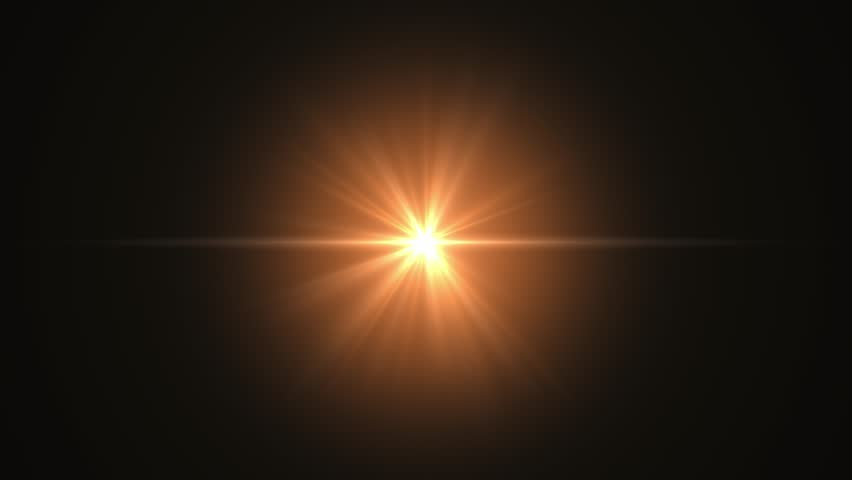 Lens flare element against black backdrop stock footage | Shutterstock HD Video #1022391730