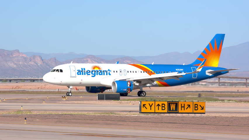 Mesa, Az - 2019: Allegiant Stock Footage Video (100% Royalty-free)  1022560990 | Shutterstock