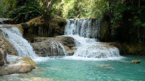 Kuang Si Waterfall Travel
