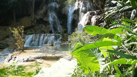 Laos Kuang Si Waterfall Travel