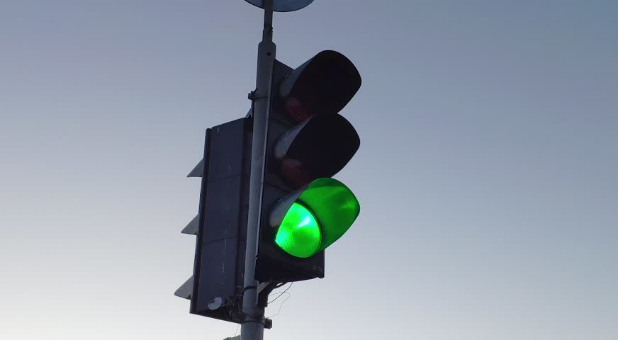 Traffic lights video footage, change of traffic light | Shutterstock HD Video #1022905840