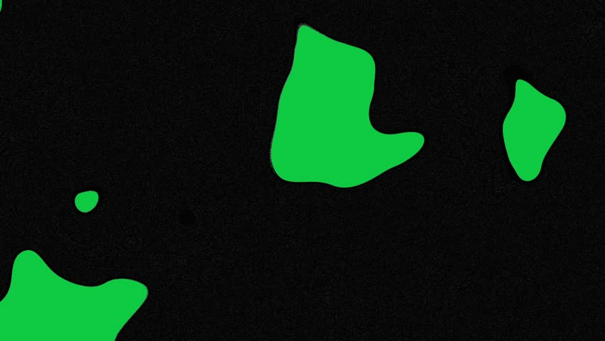 Fill out black color on green screen background. Blank green background and fill out waves. Looping footage   Shutterstock HD Video #1023627280