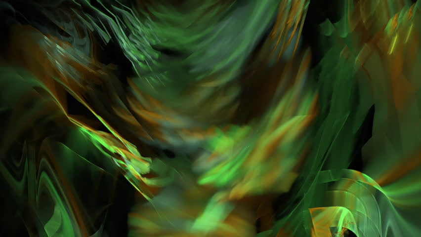Abstract fractal forms morph and oscillate (Loop) | Shutterstock HD Video #1023834010