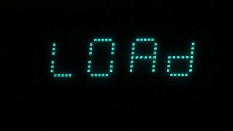Стоковое видео «Volume Display  an Amplifier Display