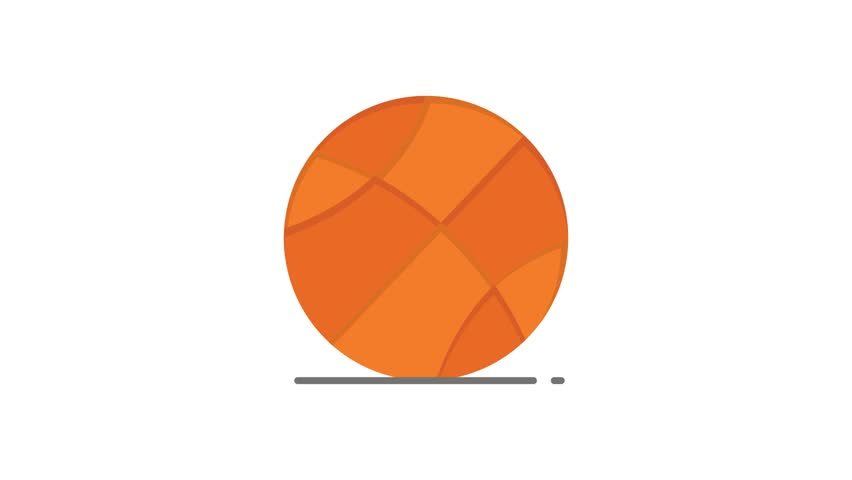 Ball, Sports, Game Line Icon Motion Graphic Animation | Shutterstock HD Video #1024089830