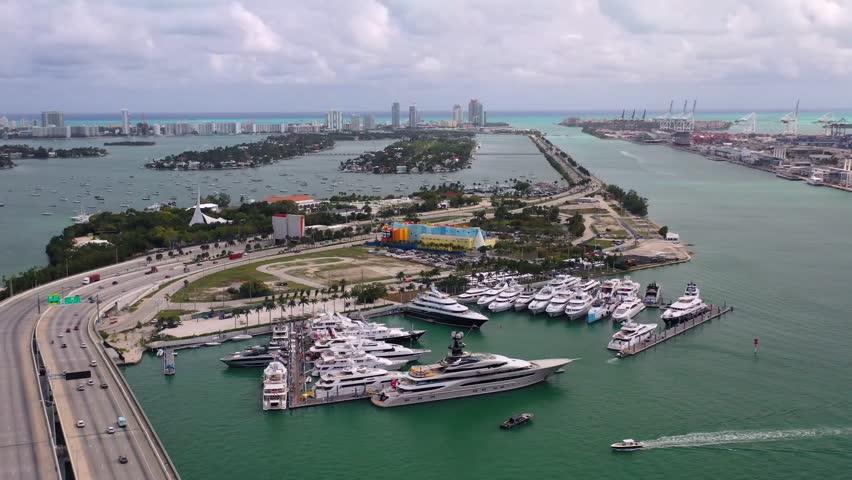 Super Yacht Show in Miami 2019 | Shutterstock HD Video #1024244900
