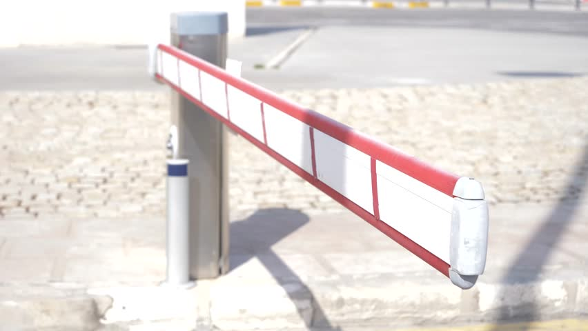 Parking Barrier Lifts, a Car Stock Footage Video (100% Royalty-free)  1024729250 | Shutterstock