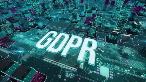 GDPR with digital technology