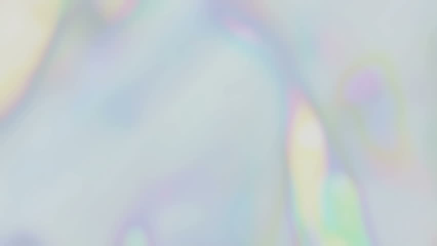 Abstract blurred movie. Holographic surreal iridescent background for tv show intro, opener, christmas theme, holiday, party, clubs, event, music clips, advertising footage. Fast and slow motion | Shutterstock HD Video #1025257370