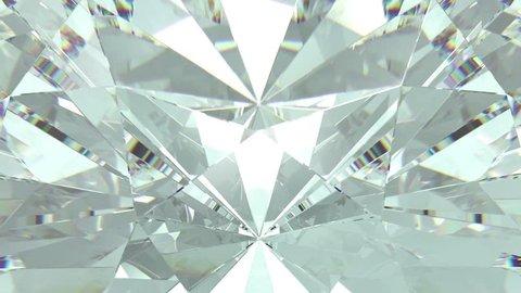 Luxury bright diamond 4K loopable background