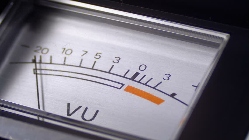 VU Meters Bouncing Free Motion Graphics & Backgrounds