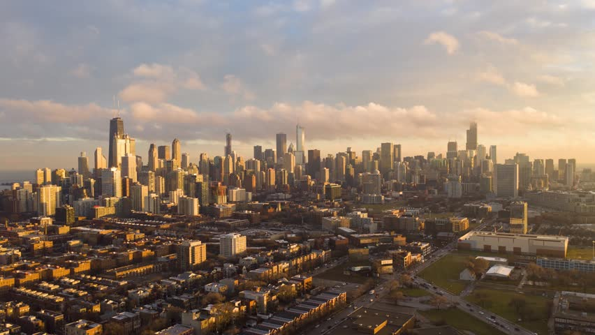 Winter hyperlapse of Chicago