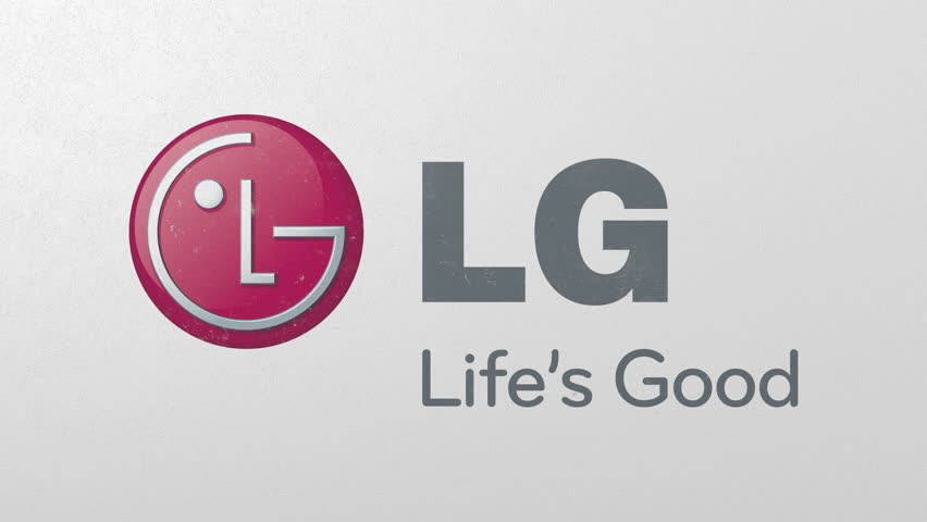 Destroying wall with painted logo of LG. Crisis conceptual editorial 3D animation | Shutterstock HD Video #1026819470