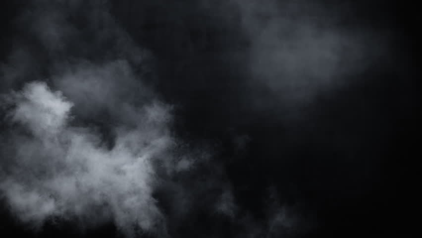 Atmospheric smoke VFX overlay element. Haze background. Smoke in slow motion on black background. White smoke slowly floating through space against black background. Mist effect. Fog effect. | Shutterstock HD Video #1026893240
