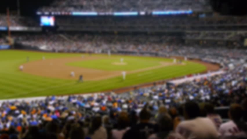 Baseball stadium fans cheering  | Shutterstock HD Video #1027043240