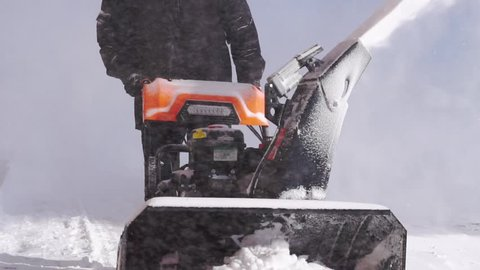 Snowblower Stock Video Footage - 4K and HD Video Clips