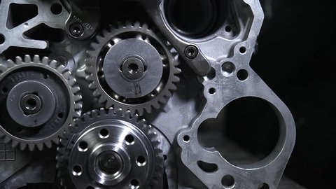 parts from the internal combustion engine