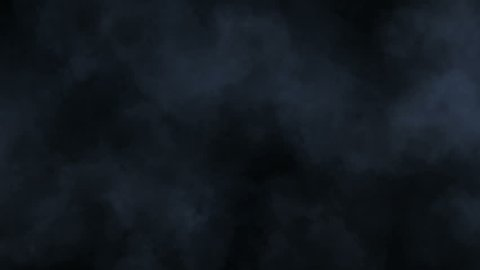 Atmospheric smoke 4K Fog effect. VFX Element. Haze background. Abstract smoke cloud. Smoke in slow motion on black background. White smoke slowly floating through space against black background.