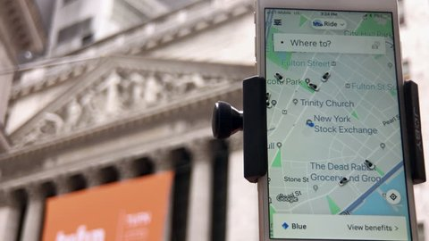 New York,  New York  United States April 11,2019 Uber has decided it will seek to sell around $10 billion worth of stock at its IPO at the New York Stock Exchange.
