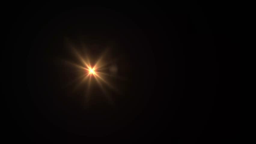 Orange Lens Flare | Shutterstock HD Video #1027860350