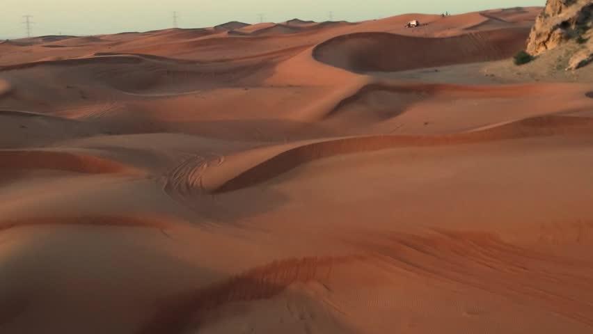 General view of desert in dubai | Shutterstock HD Video #1027894970
