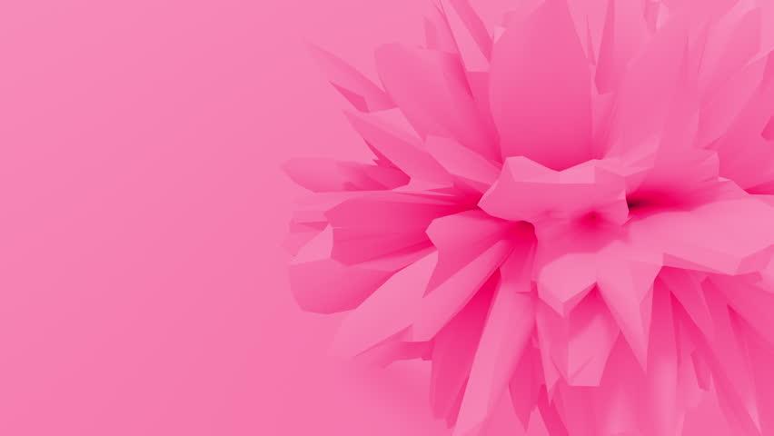 Abstract fractal 3d shape texture liquid object. 4K seamless loop animation. | Shutterstock HD Video #1027965710