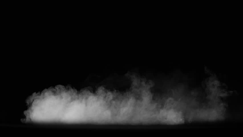 Smoke , vapor , fog - realistic smoke cloud best for using in composition, 4k, use screen mode for blending, ice smoke cloud, fire smoke, ascending vapor steam over black background - floating fog | Shutterstock HD Video #1028477030