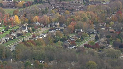 AERIAL United States-Rochester Suburbs 45 2008