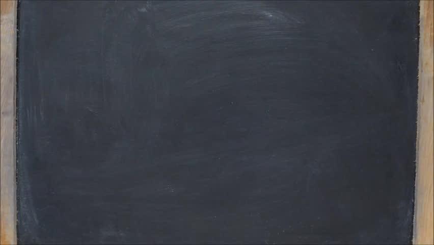 Write family ball head on black chalk board | Shutterstock HD Video #10295300