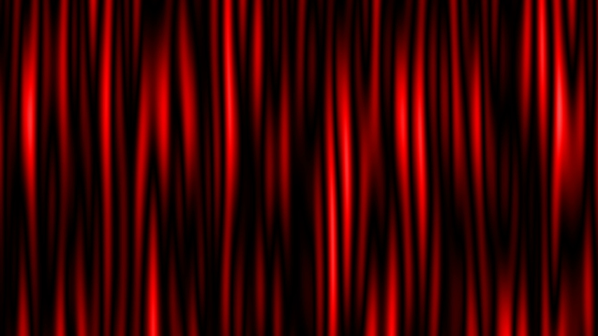Stage or window red curtains realistic 3D animation. | Shutterstock HD Video #1030202690