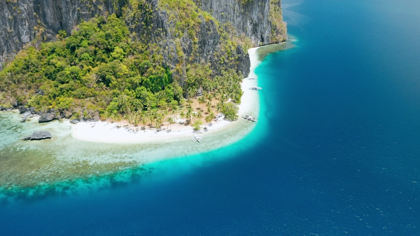 Breathtaking Pinagbuyutan Island El Nido Stock Footage Video 100 Royalty Free 1030541090 Shutterstock
