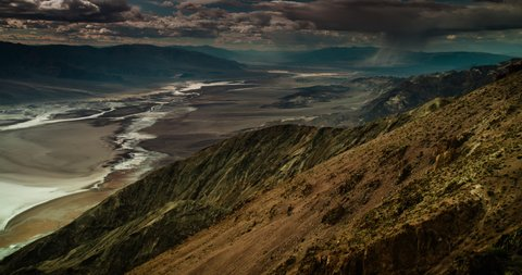 Sweeping panorama of Death Valley National Park from Dante's View