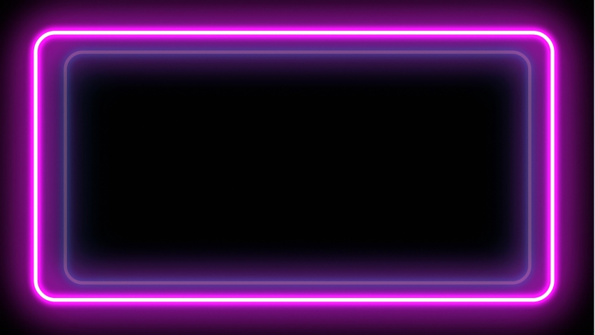 Neon 4K frames. Neon flickering background. Seamless video. Ultraviolet flashes are attention-grabbing.   Shutterstock HD Video #1030694090