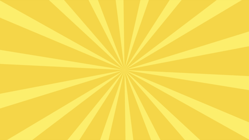 Comic 2d animation yellow background 4k video Comic animation cartoon background | Shutterstock HD Video #1030781390