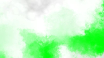 Clouds on green screen: background