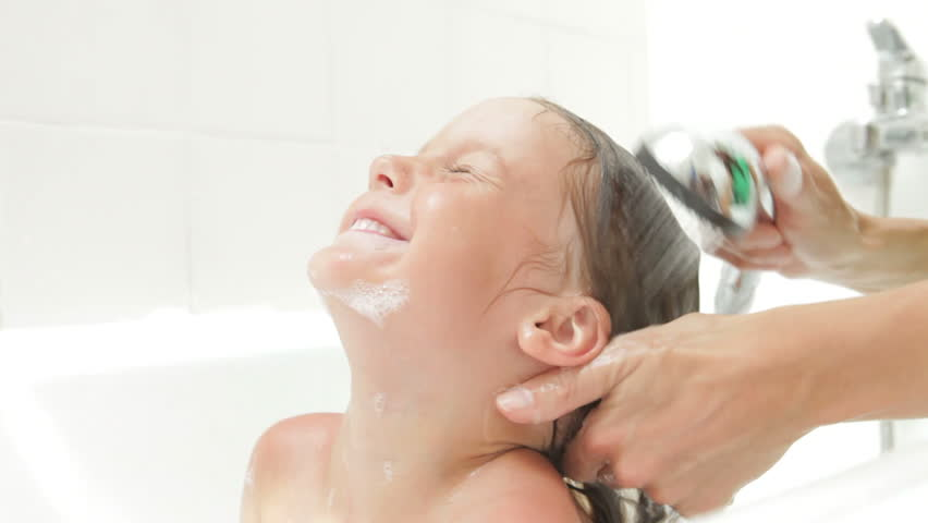 Image result for mom washing daughter's hair