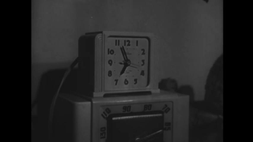 CIRCA 1950 - Working women wake up early. | Shutterstock HD Video #1032416690
