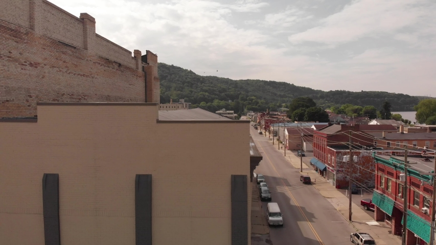 Old Neglected Buildings in Kittanning, PA 16201 | Shutterstock HD Video #1033435820