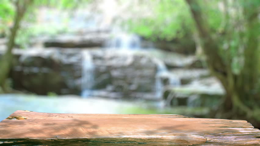 Table Top And Blur Nature Stock Footage Video 100 Royalty Free