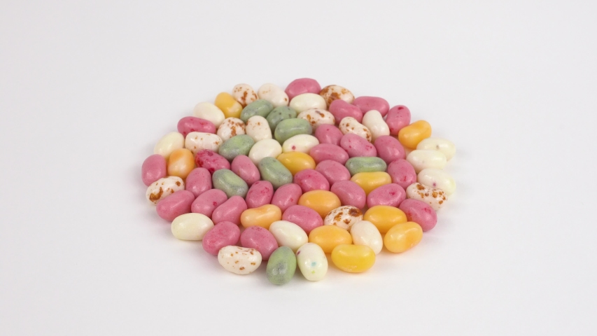 Video of jelly beans rotating | Shutterstock HD Video #1034942660