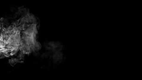 smoke , vapor , fog , Cloud - realistic smoke cloud best for using in composition, 4k, screen mode for blending, ice smoke cloud, fire smoke, ascending vapor steam over black background - floating fog