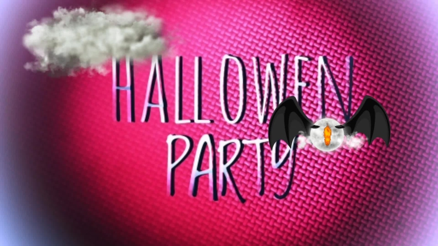 Halloween Party Invitation Card With Stock Footage Video 100 Royalty Free 1035422450 Shutterstock