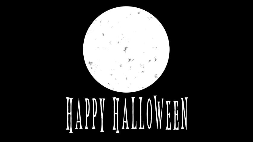 4K Happy Halloween Animation |Loopable | Shutterstock HD Video #1035519170