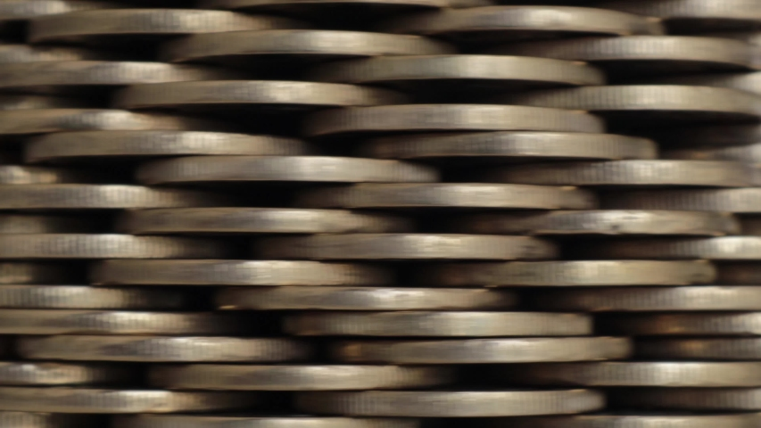 Background made of golden coins making a wall   Shutterstock HD Video #1037381030