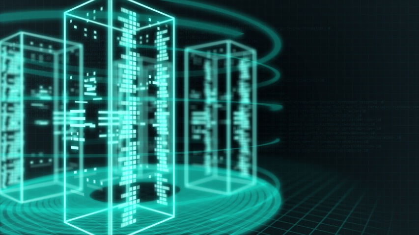 Server room and security network data | Shutterstock HD Video #1037495270